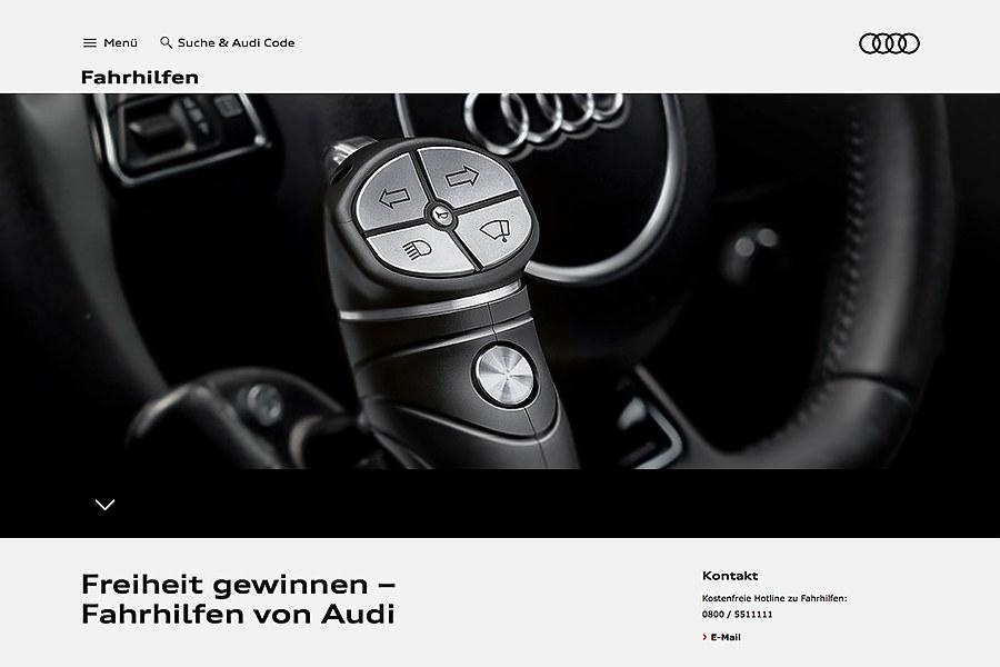© uwe reicherter: Audi Fahrhilfen